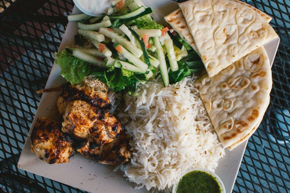 "Q's Halal ""Mediterranean Comfort"": 2306 Central Ave, Alameda, CA"