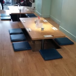 P O Of Okawari London United Kingdom Lunch Table