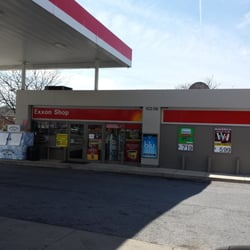 Exxon Gas Station Gas Stations 10206 New Hampshire Ave Silver