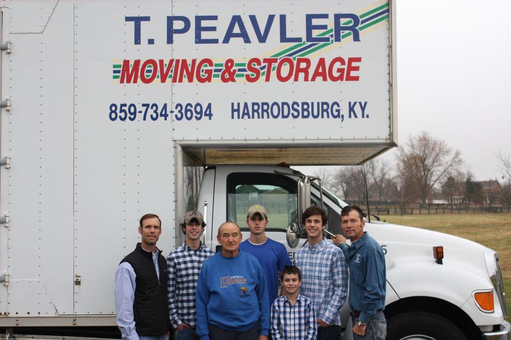 Peavler T Moving Systems: 255 Morris Dr, Harrodsburg, KY