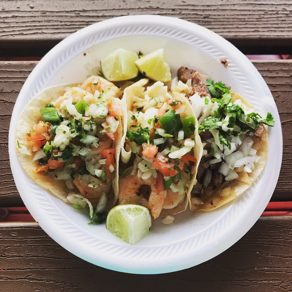 Food from Tacos Locos