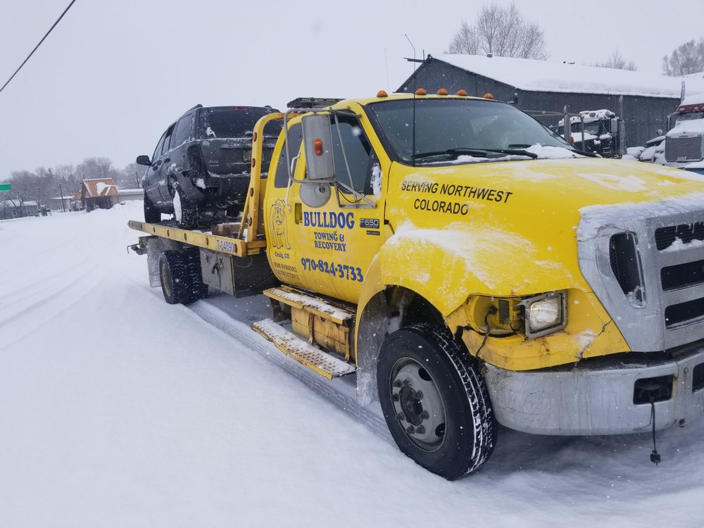 Bulldog Towing and Recovey: 839 Rose St, Craig, CO