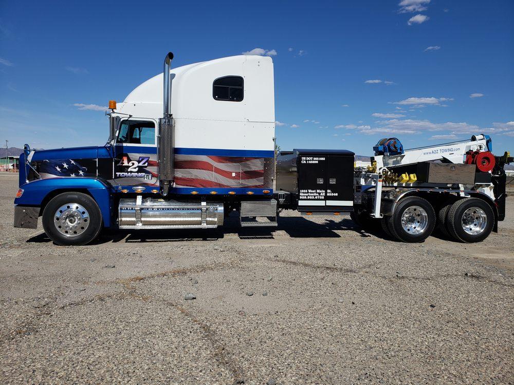 A2Z Towing: 1035 W Main St, Quartzsite, AZ