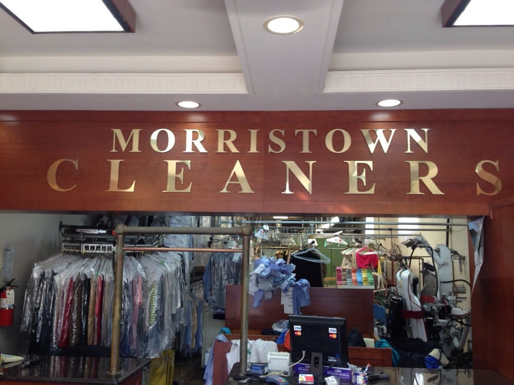 Morristown Cleaners: 154 South St, Morristown, NJ