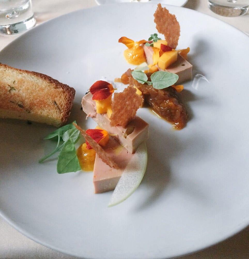 Starter foie gras with chutney yelp for Chutney de pommes pour foie gras