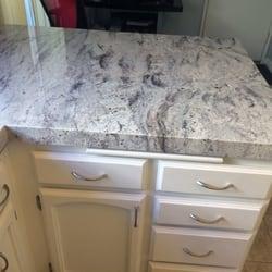 Photo Of Davis Stone Escondido Ca United States Snowflake Granite Counter