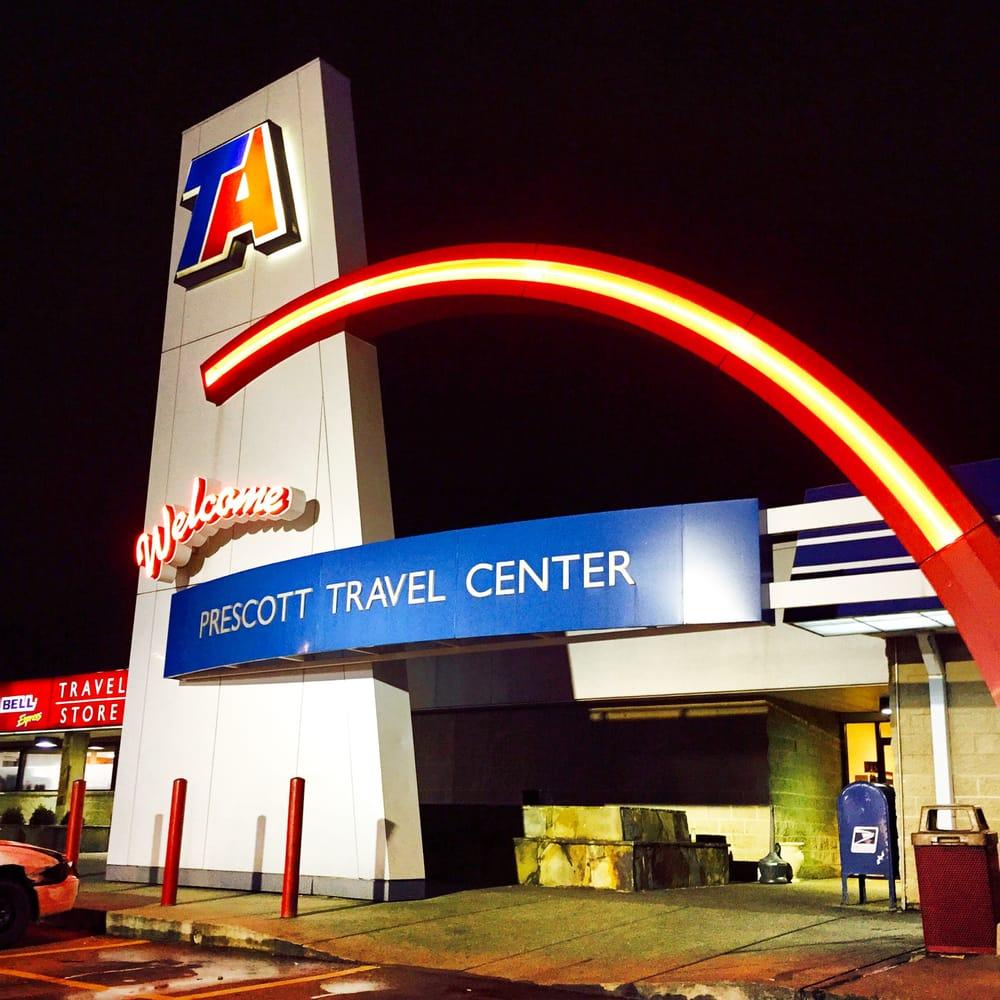 Travel Centers of America: 1806 US Highway 371 W, Prescott, AR