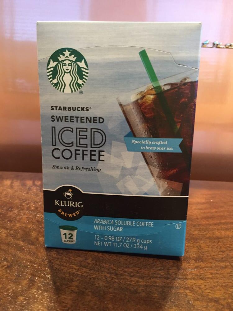 starbucks sweetened iced coffee