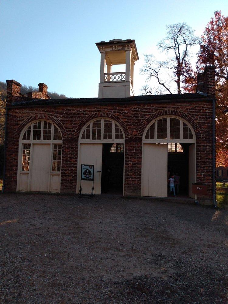 John Brown's Armory Firehouse Fort: Shenandoah St & Potomac St, Harpers Ferry, WV