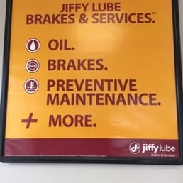 Many Chicagoland Jiffy Lubes are now offering Tires, brake service, Tune-Ups, and suspension work. Jiffy Lube offers ASE certified technicians at these locations to provide you with fast, competitively priced maintenance services beyond fluid changes.