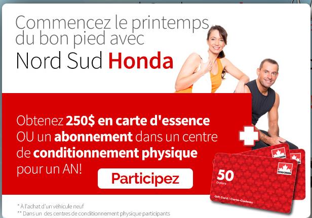 Nord Sud Honda >> Honda Automobiles Nord Sud Request A Quote Car Dealers 325 Rue