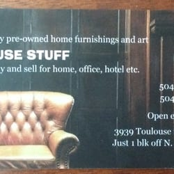 House stuff 13 reviews furniture stores 3939 toulouse st mid photo of house stuff new orleans la united states business card reheart Image collections