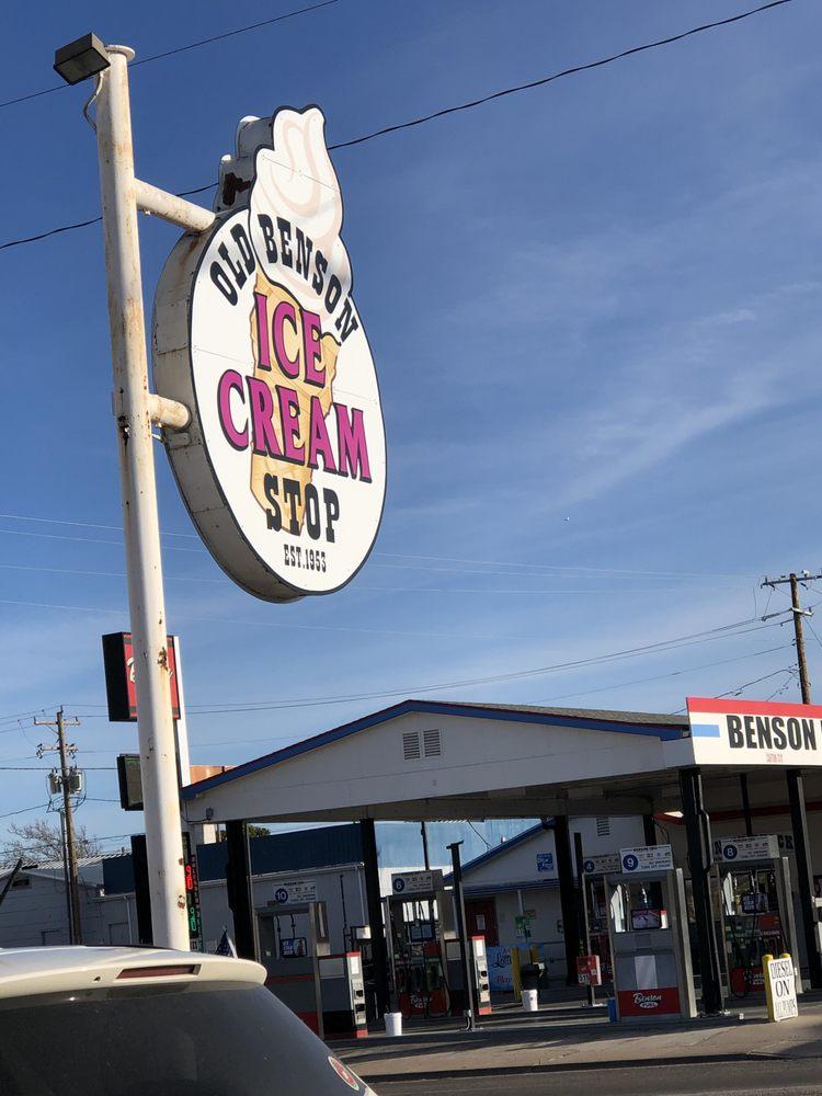 Old Benson Ice Cream Shop: 102 W 4th St, Benson, AZ