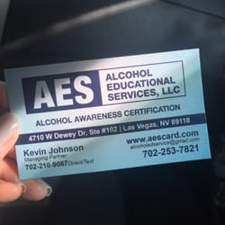 Alcohol Educational Services