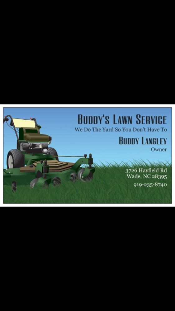 Buddy's Lawn Service: Coats, NC