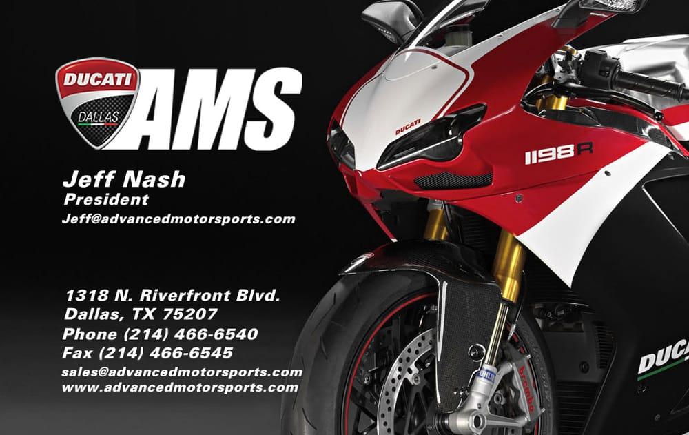 Advanced Motorsports - Ducati Dallas