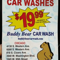 buddy bear car wash	  Buddy Bear Car Wash - 21 Photos - Car Wash - 1045 W 95th St ...