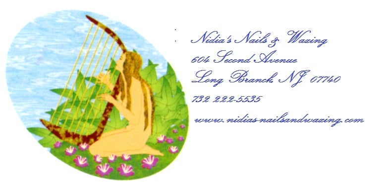 Nidia's Nails & Waxing: 604 2nd Ave, Long Branch, NJ