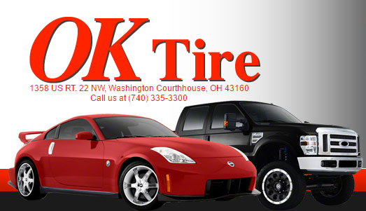 OK Tire Service: 1358 US Rt 22 NW, Washington Ct House, OH