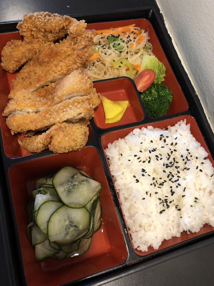 Food from Bend-O Bento Japanese Kitchen