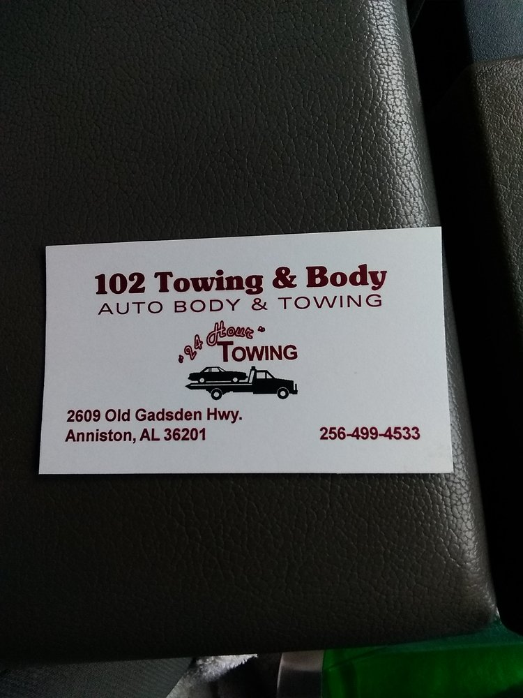 Towing business in Oxford, AL