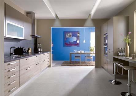 Arcos une cuisine lin aire bien agenc e avec une for Cuisine agencee