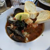 Photo Of Hooked Seafood Restaurant Manchester Nh United States Cioppino This