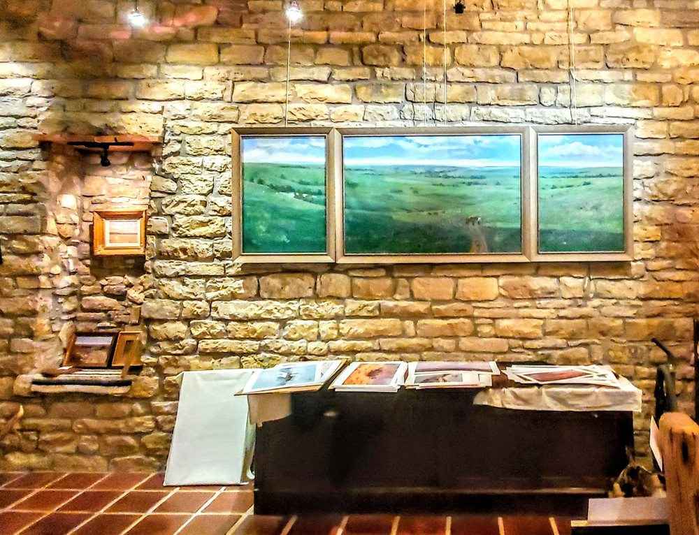 Flint Hills Gallery: 321 Broadway St, Cottonwood Falls, KS