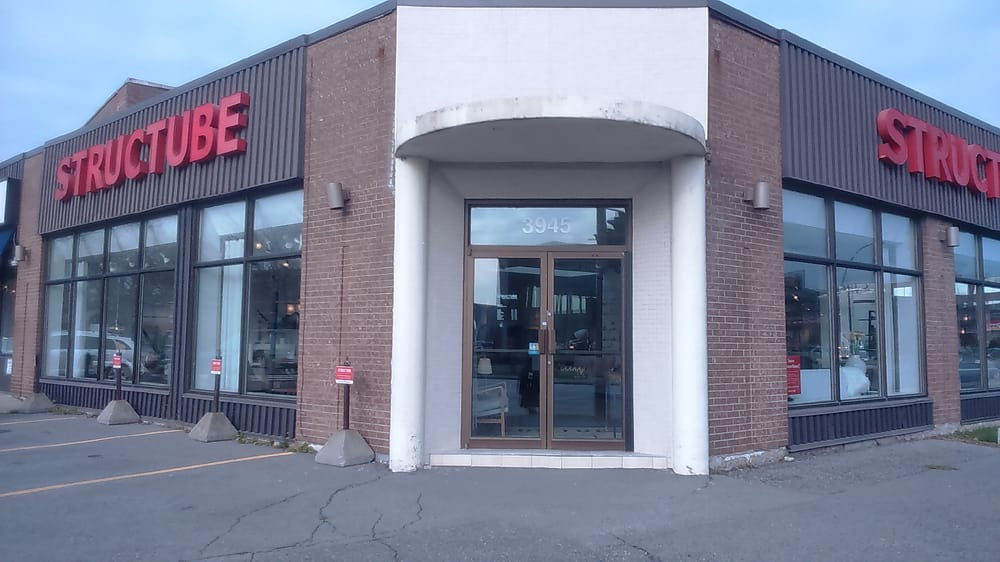 Structube furniture shops 3945 rue jean talon ouest for Meubles montreal jean talon