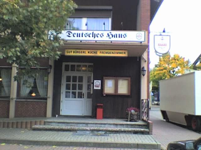 Deutsches Haus - Restaurants - Höchststadt 4, Mulsum, Niedersachsen ...