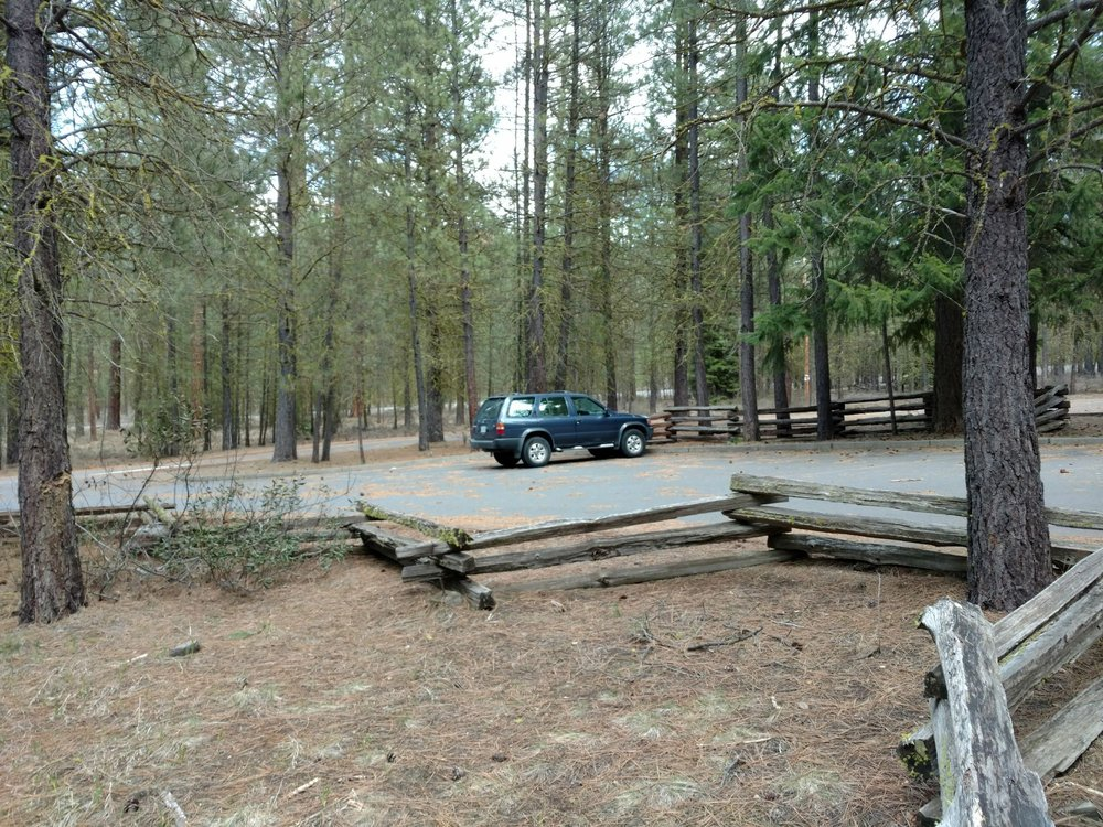 Head of the Metolius River trail: Camp Sherman, OR