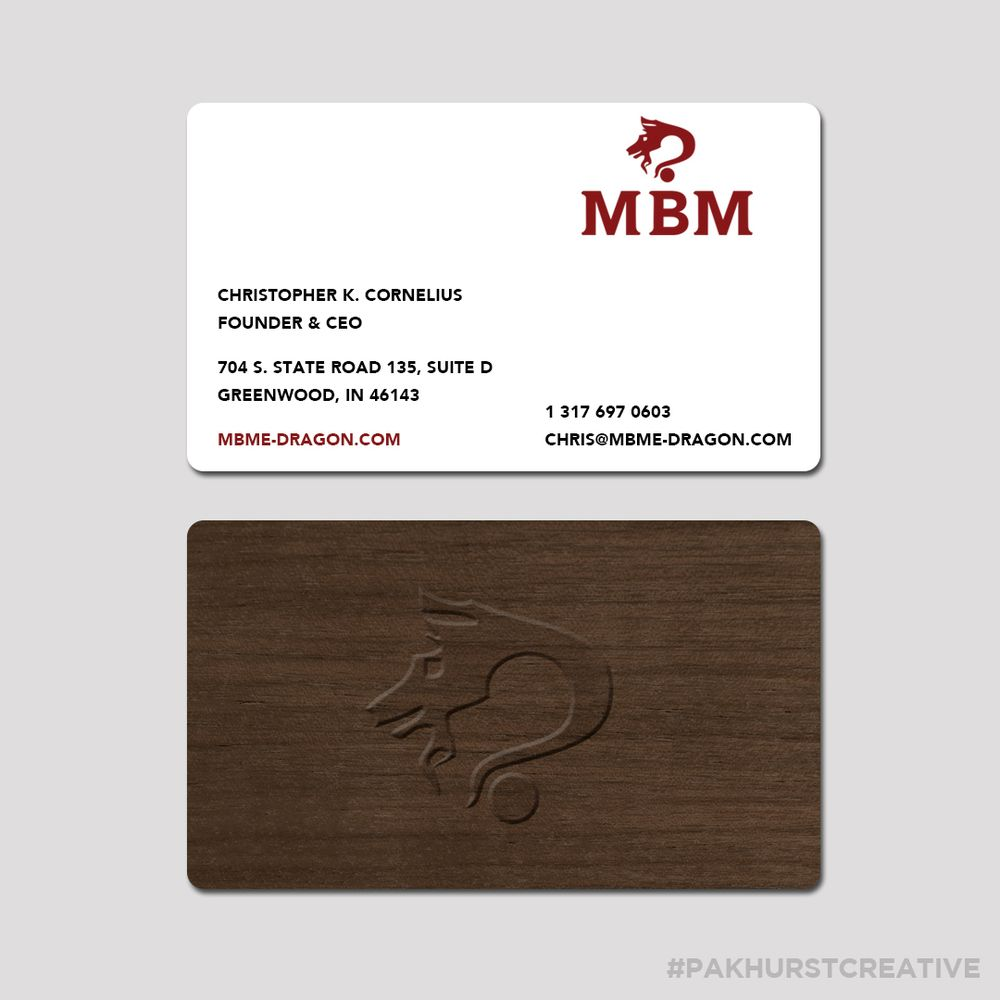Wooden business cards for michael bradley matthew holding company photo of parkhurst creative design round rock tx united states wooden business reheart Image collections