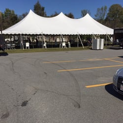 Photo of Access Tent - Windham NH United States. Pole tent for corporate & Access Tent - 33 Photos - Party Equipment Rentals - 87 Range Rd ...