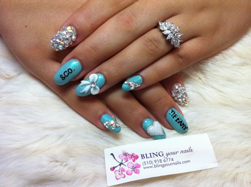 Tiffany co nails design yelp photo of bling your nails castro valley ca united states tiffany prinsesfo Images