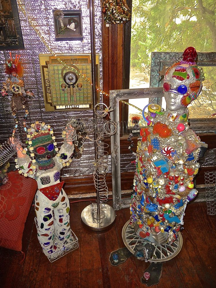 Grassroots Art Center: 213 S Main St, Lucas, KS