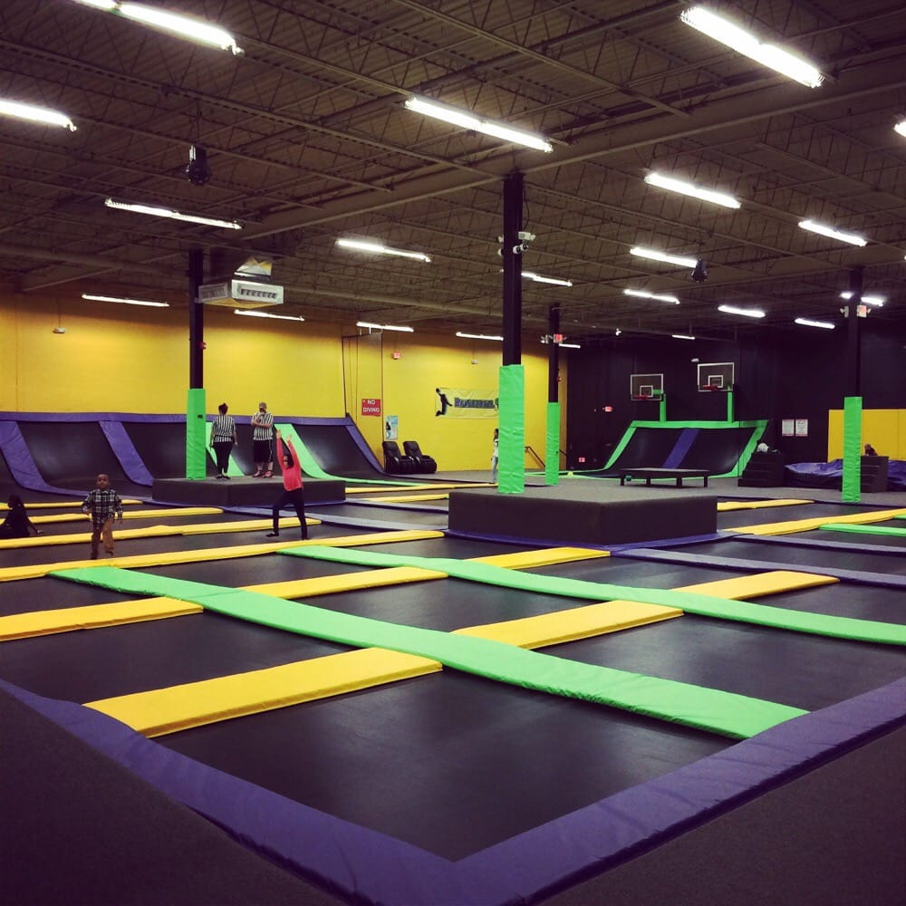 Getting Trampoline Springs Off: Photos For Get Air Trampoline Park