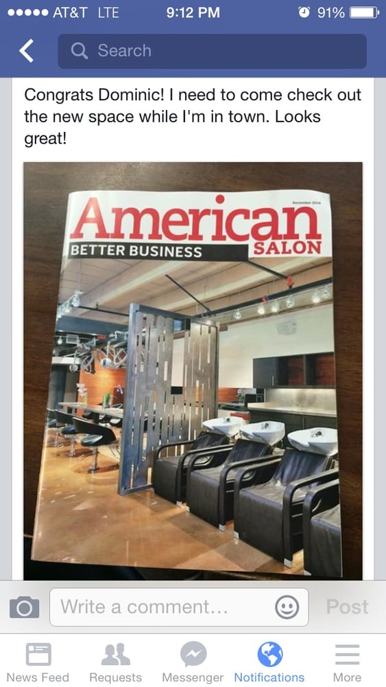 2014 pinnical award winning cover story about the ladue for 18 8 salon locations