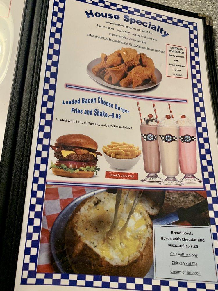Woody's 50's Diner: 805 S Hemlock St, Le Roy, IL