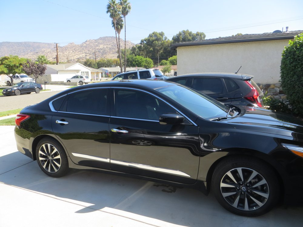 2016 altima with llumar ctx ceramic tint 30 front 15 for 15 window tint pictures