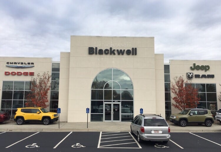 blackwell chrysler jeep dodge kia concessionari auto