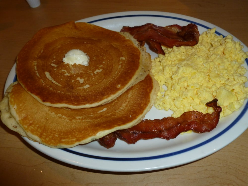 2x2x2 - Two buttermilk pancakes, two scrambled eggs & 2 ...