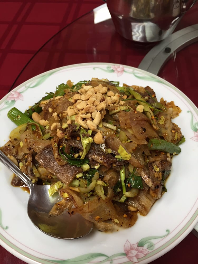 Authentic Off Menu Dish Fu Qi Fei Pian Beef Tendons