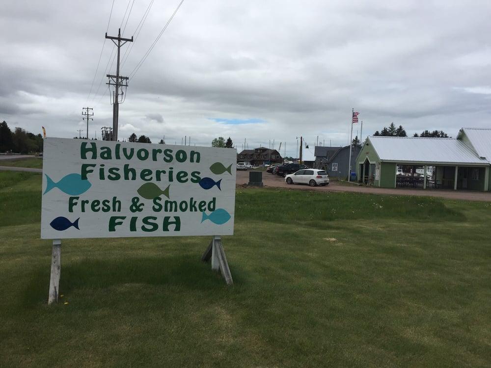Halvorson Fisheries: Cornucopia Harbor, Cornucopia, WI
