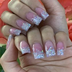 3a57b60a69b Photo of Happy Nails and Lashes - Shoreline, WA, United States. Ombré  sparkle