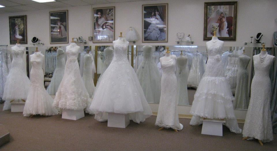 Wedding Gown Display at Mafalda\'s - Yelp