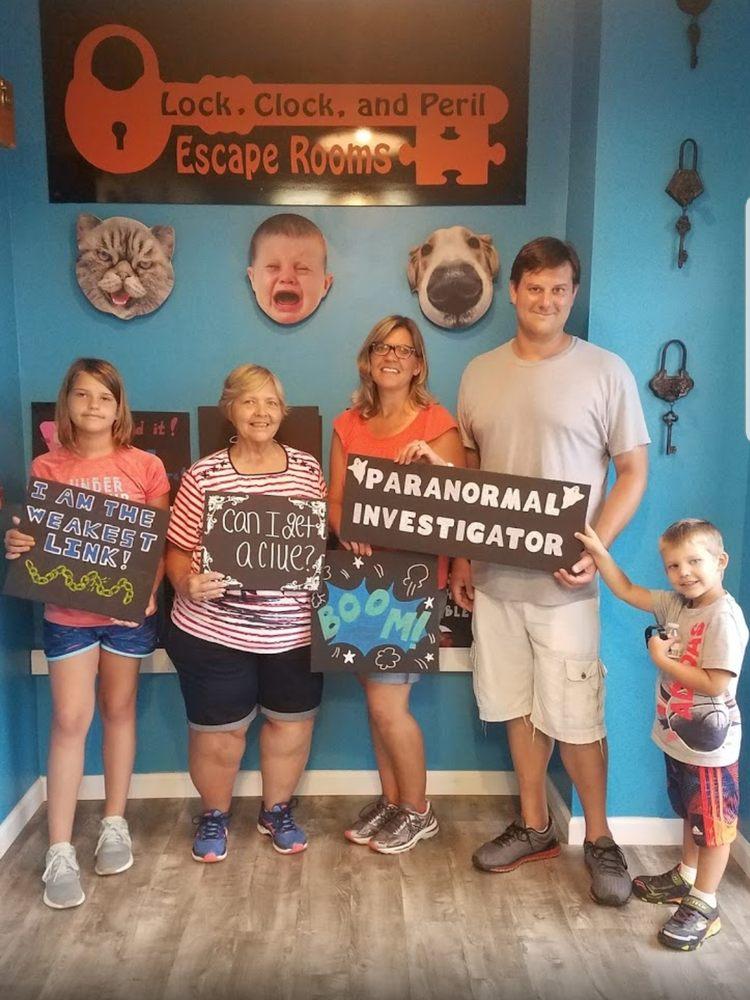 Lock, Clock, and Peril Escape Rooms: 5535 Broad St, Sumter, SC