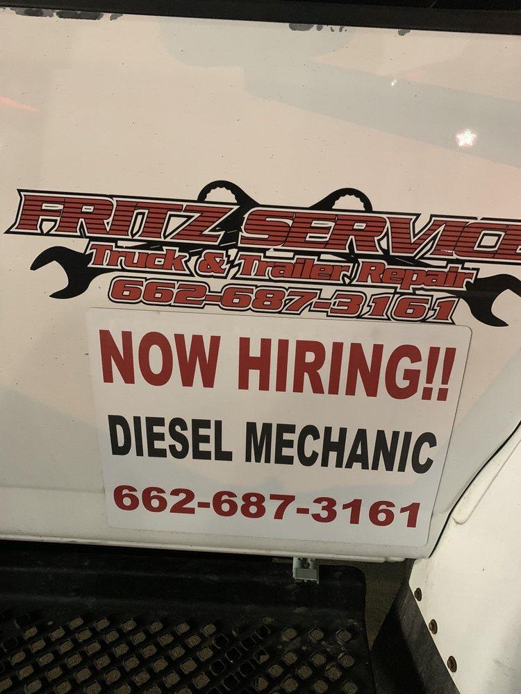 Fritz Truck & Trailer Service: 955 S Eason Blvd, Tupelo, MS