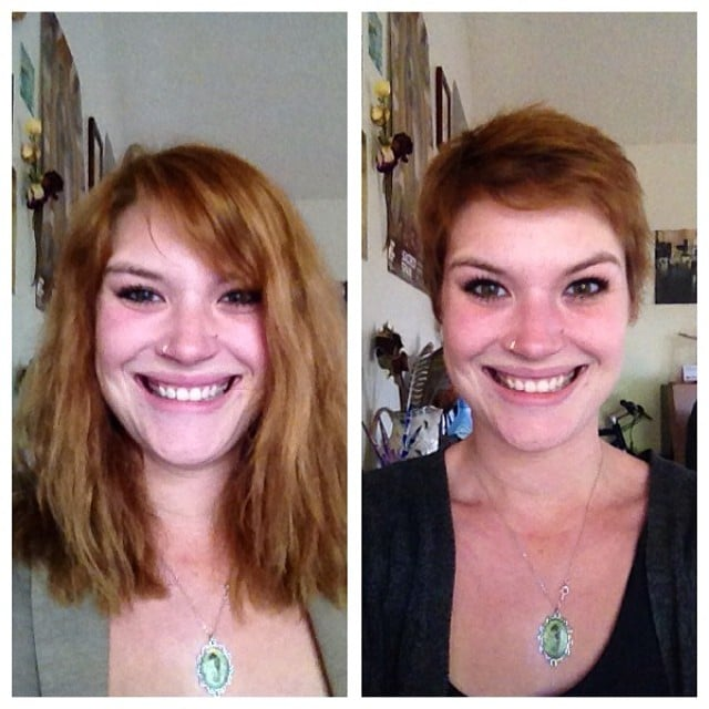 Before after pixie cut with casey yelp for 2 blond salon reviews