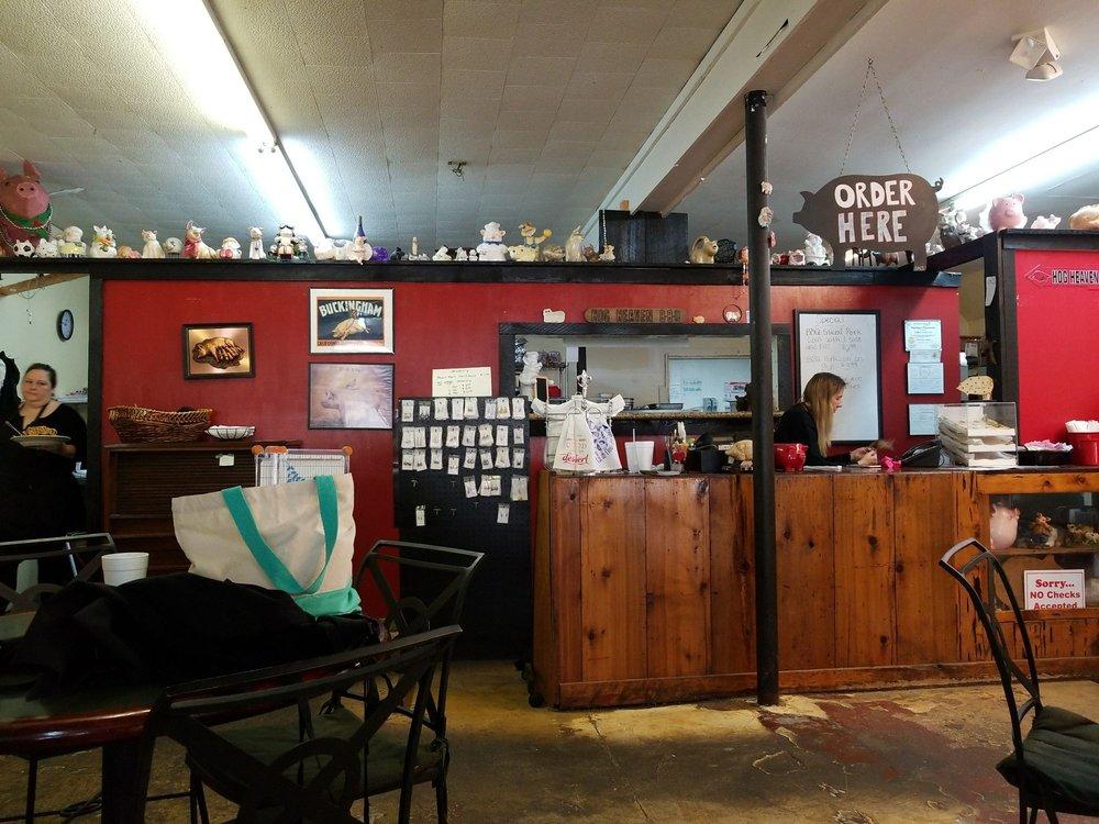 Hog Heaven Smokehouse: 83520 Hwy 21 S, Bogalusa, LA