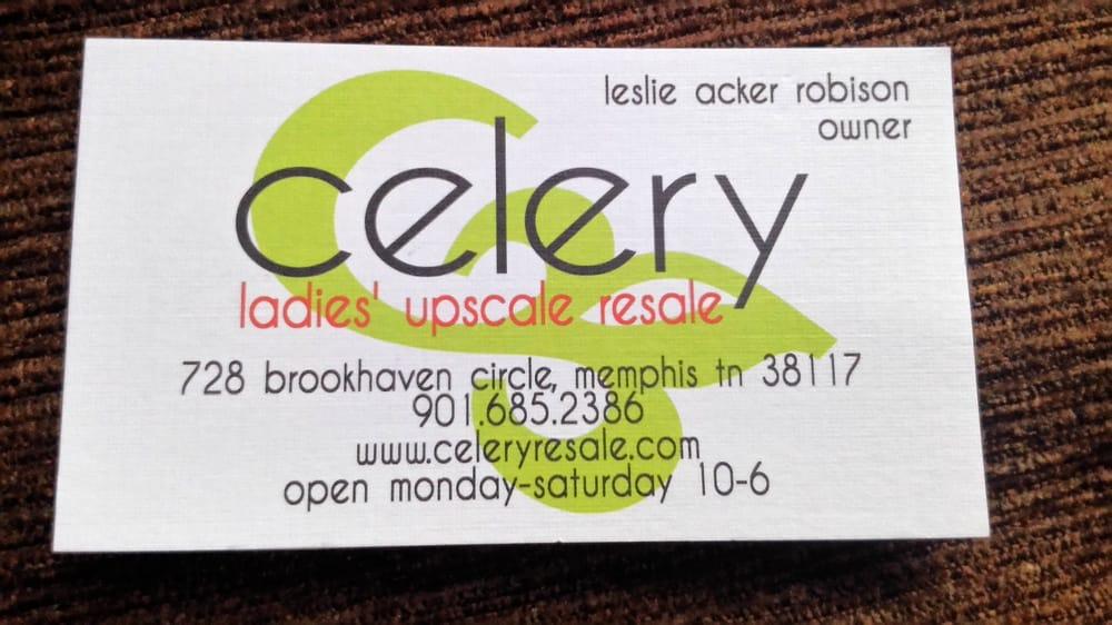 Celery Ladies Upscale Resale
